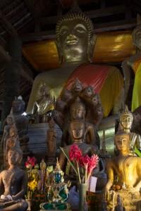 Boedha in Wat Xieng Thong